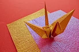 折り紙イメージ鶴 (1)